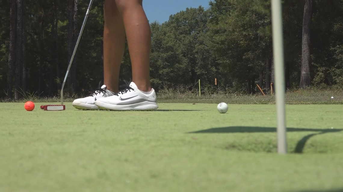 11-year-old Chapin girl competes at national golfing competition