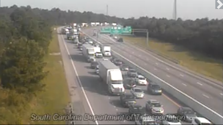 I-26 traffic moving again after deadly wrong-way collision hours earlier in Lexington