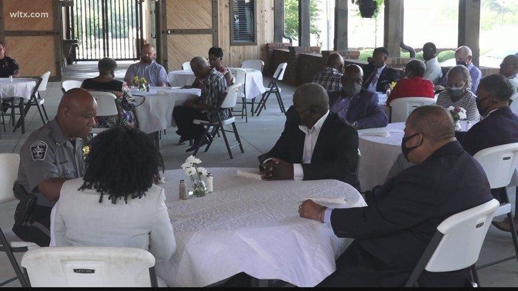 Orangeburg host prayer breakfast to address issues impacting the town
