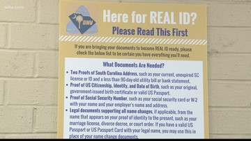 Deadline looms for South Carolinians to get a REAL ID