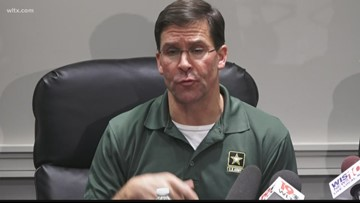 Secretary of Army visits Fort Jackson