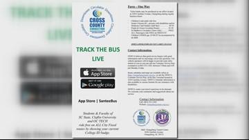New app helps bus transportation in Orangeburg
