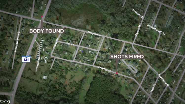 Newberry shooting, woman's body found