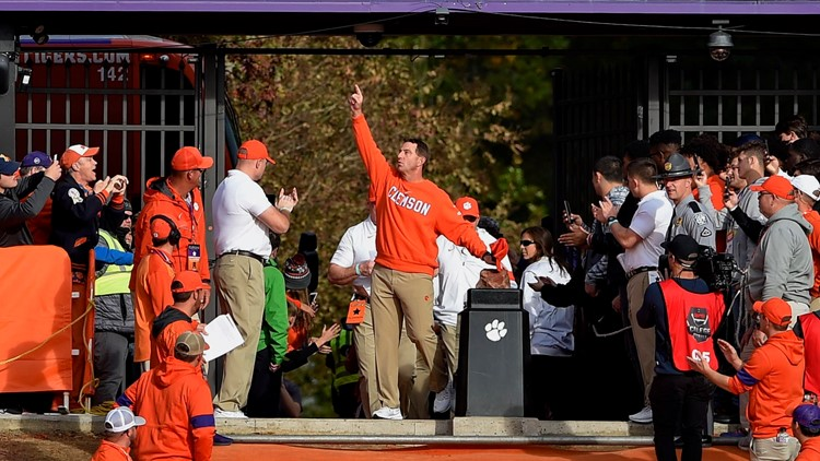 "Dabo has ""zero doubt"" that college football will be played this season"