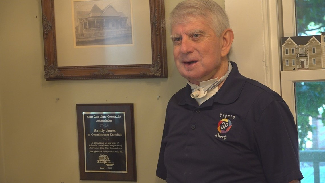 Long time Irmo volunteer honored by the town