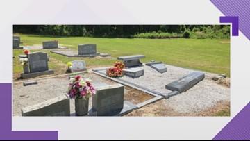 Lexington cemetery vandalized