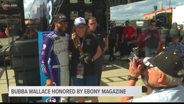 NASCAR driver honored by Ebony Magazine
