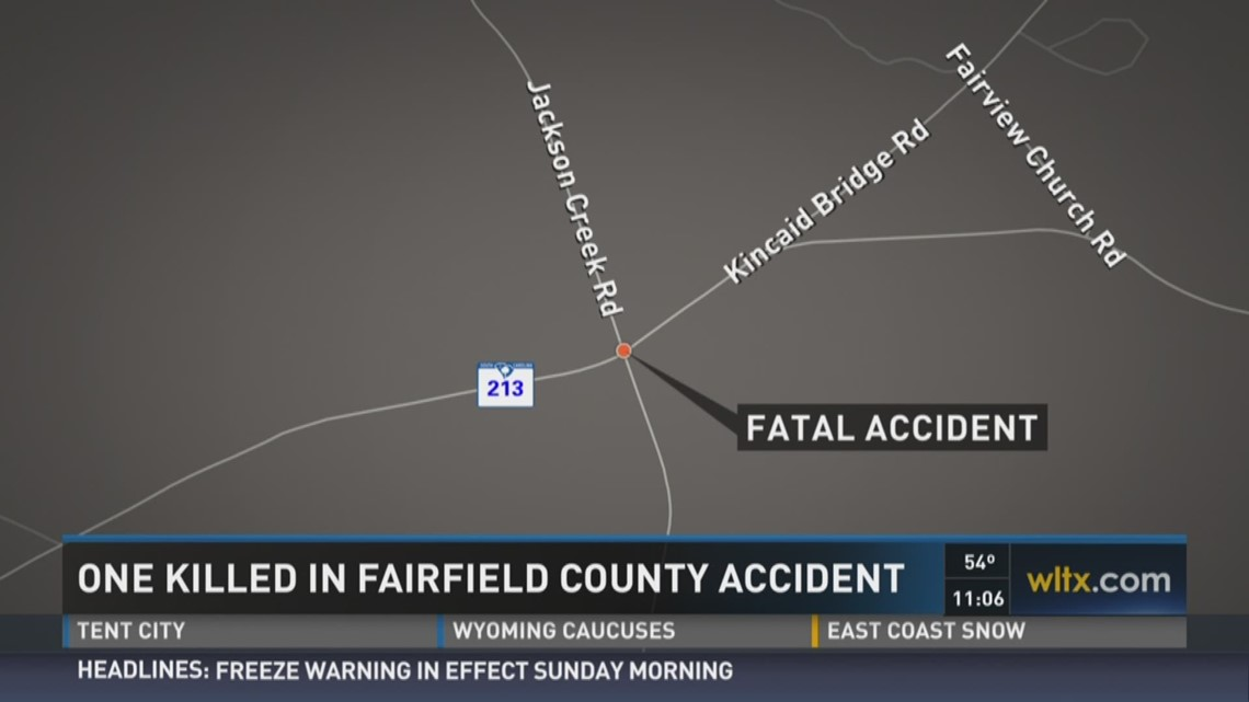 One Killed in Fairfield County Accident