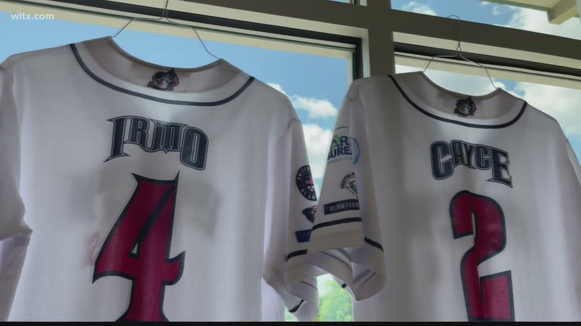 Lexington County Blowfish honoring communities with jerseys