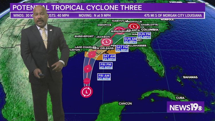Potential Tropical Cyclone Three: latest forecast track, models, warnings