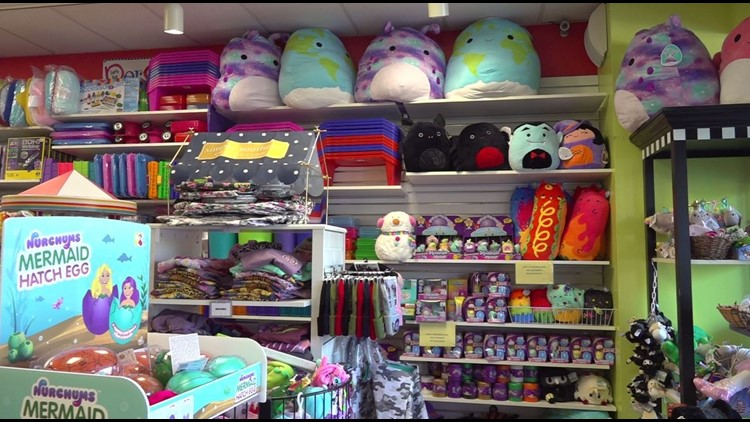 Toy stores seeing effects of supply chain issues