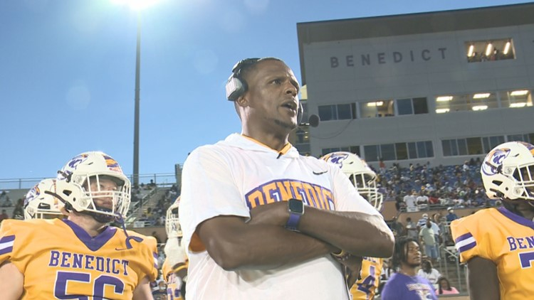 Benedict College gives Chennis Berry a win in his Tiger debut at Carolinas Football Classic