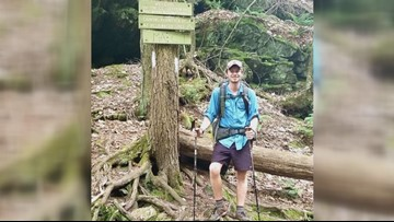 Columbia man hiking Appalachian Trail to raise money for high school