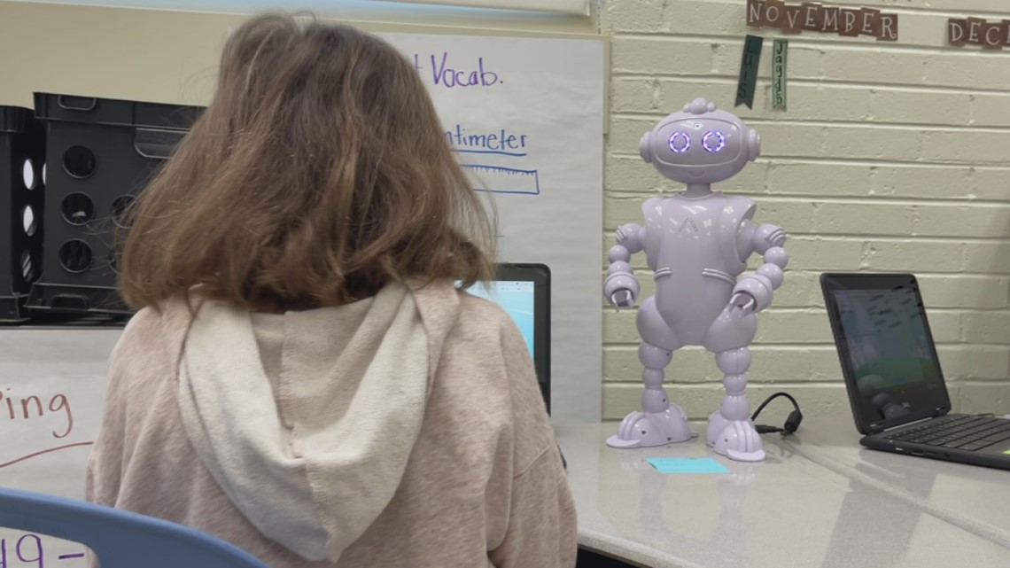 Robots helping Lexington Two students learn in the classroom