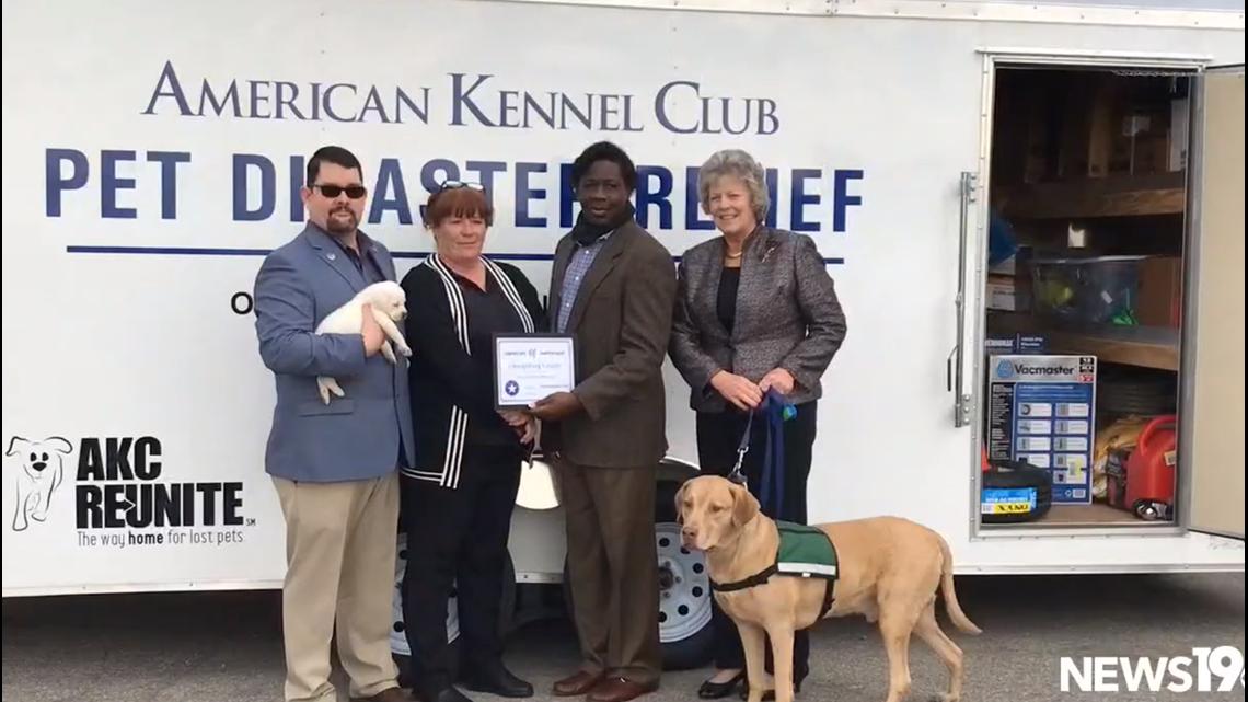 Orangeburg receives new pet relief trailer