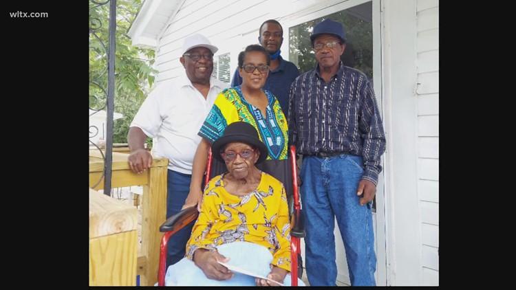 Lexington woman celebrates 102nd birthday!