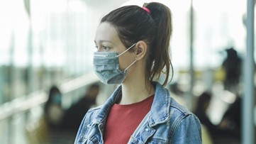 CDC recommends people wear face masks in public