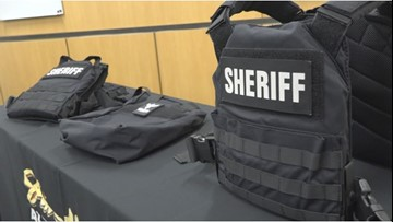 $25,000 donation to Lexington Sheriff's Department buys new tactical gear