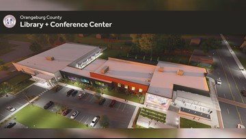 Orangeburg officials break ground for new county library