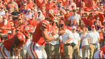 Clemson stays grounded at the top