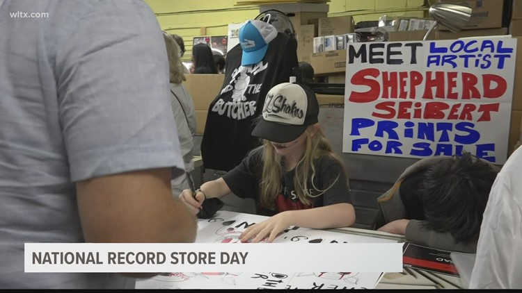 National Record Story day turns it up in South Carolina