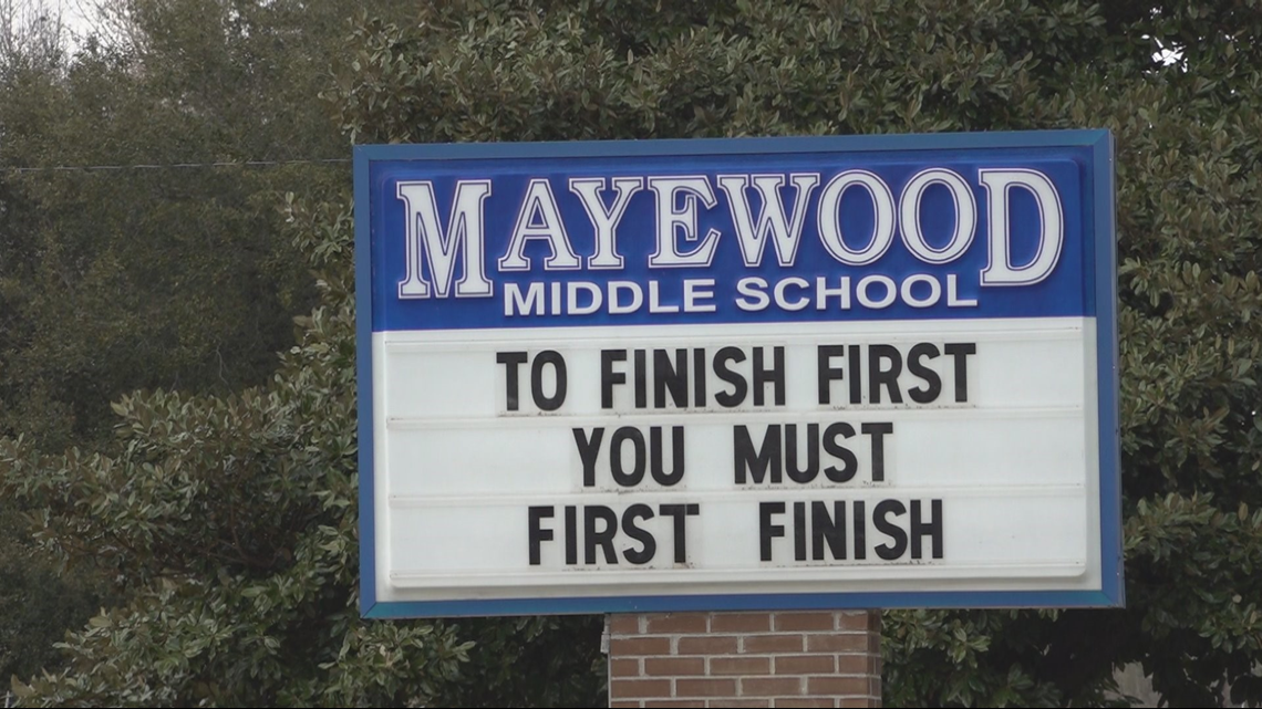 Sumter School District's Finance Committee advising against reopening Mayewood Middle
