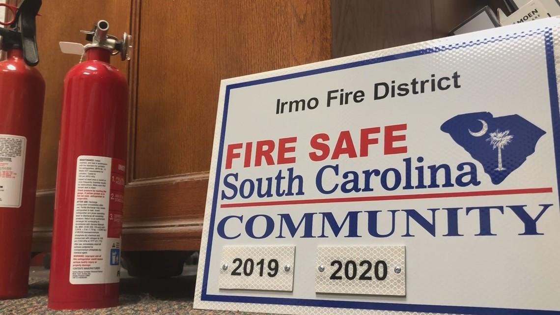 Irmo designated a 'Fire Safe Community'