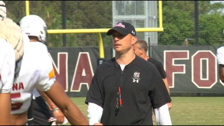 Stepp gets ready for his first preseason in Columbia