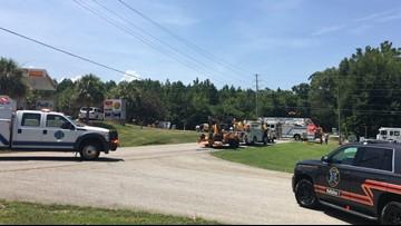 Gas leak closed Lexington intersection for hours