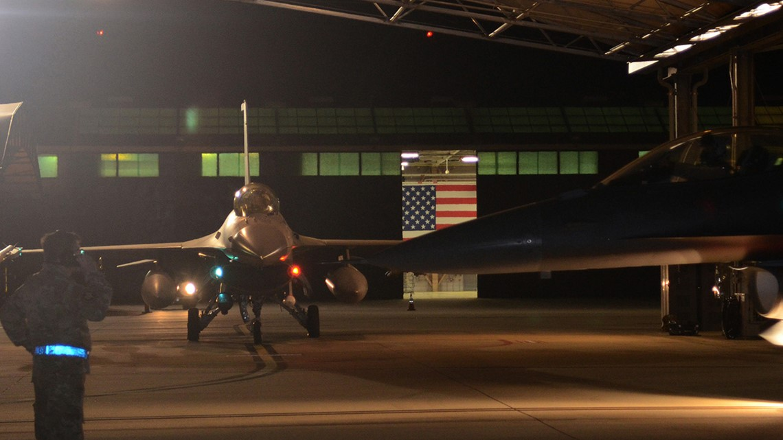 Over 300 in South Carolina Air National Guard deployed to Saudi Arabia