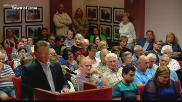 Tensions flare at Irmo town meeting
