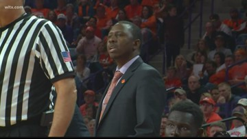 Clemson basketball coach fired