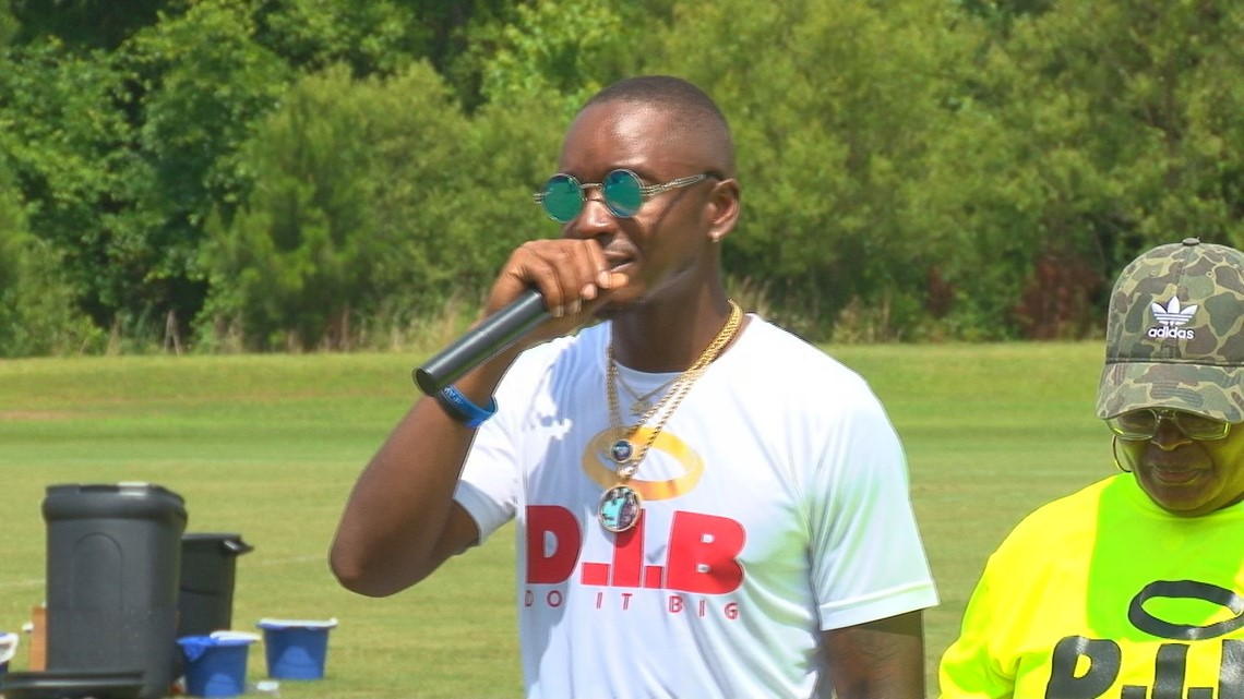 Sixth Annual We Ball 4 Destin 7-on-7 tournament held in Sumter