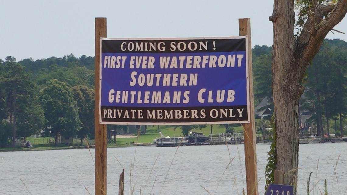 'Southern Gentlemans Club' sign in Lexington County causes local chatter on new development