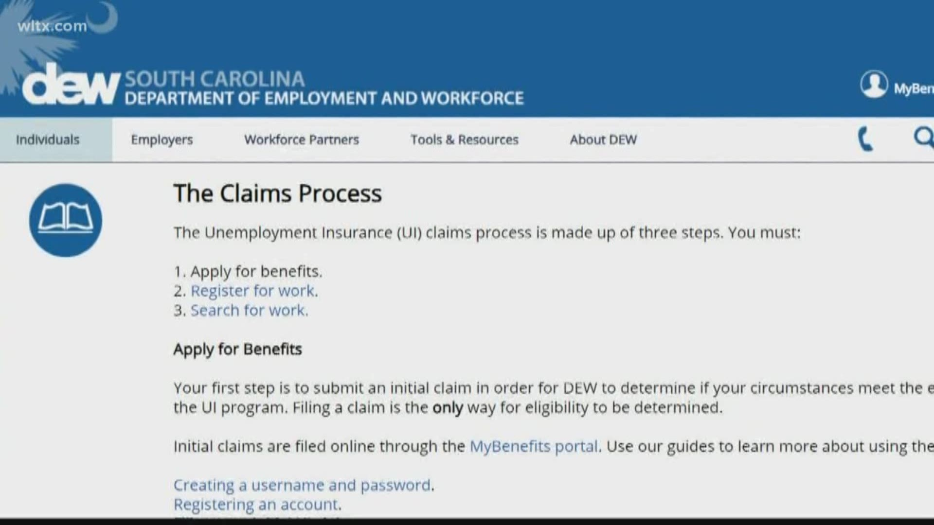 High Volume Of Sc Unemployment Insurance Applications Delays State