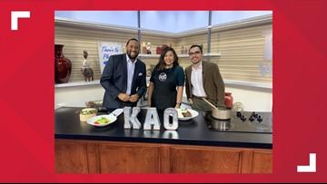 Kao Thai Cuisine visits for Restaurant Week