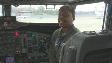 Meet the Georgia Air National Guard's first black female pilot to deploy