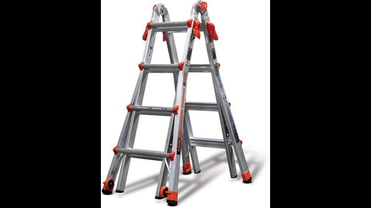 Little Giant recalls 37,000 multipurpose ladders