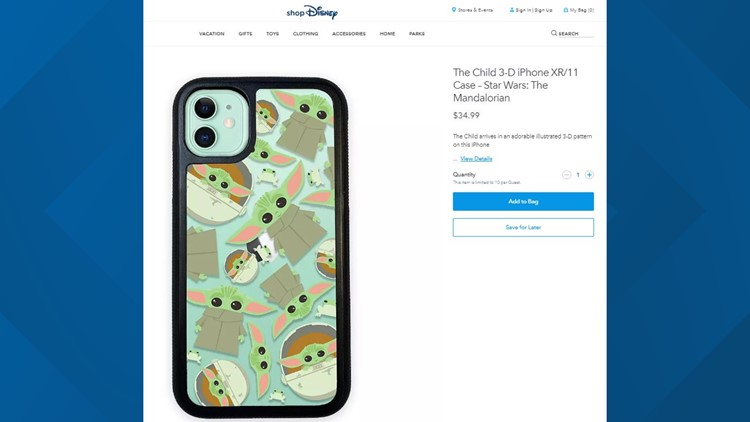 The Child phone case