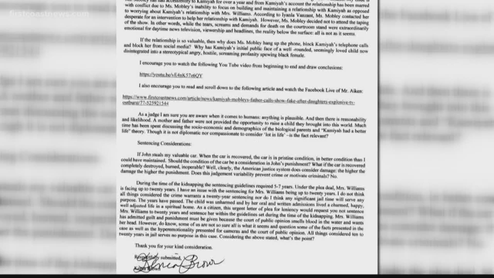Sample Letter To Judge Requesting Leniency from media.wltx.com