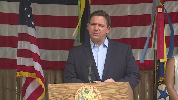 'That violates Florida law': Gov. DeSantis lashes out at cities requiring employees to get vaccinated