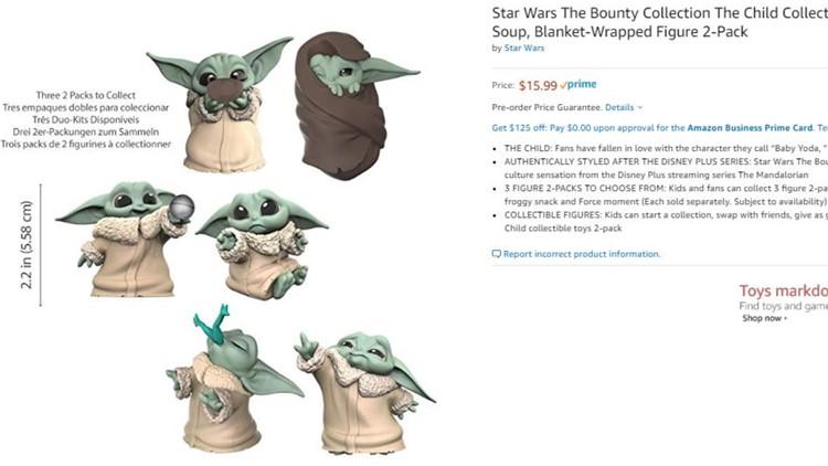 Baby Yoda Mini Figures