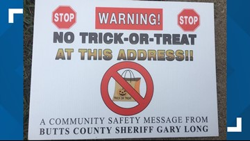 Registered sex offenders sue sheriff's office over Halloween signs