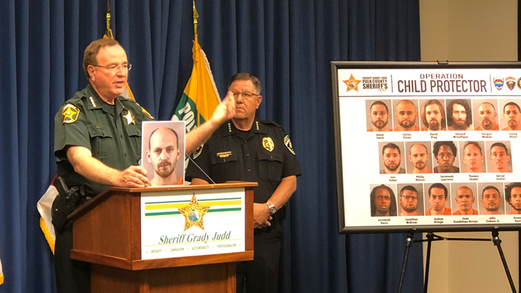 'These are nasty, nasty, nasty people': Florida sheriff on nearly 20 people accused of preying upon children