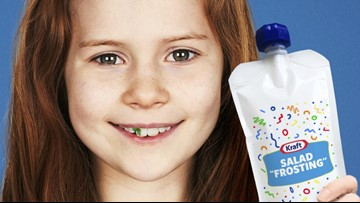 Kraft rebrands ranch dressing as 'frosting' to make kids eat veggies