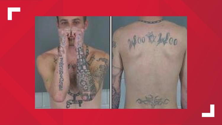 Stanley Eric Mossburg tattoos 10 14 19