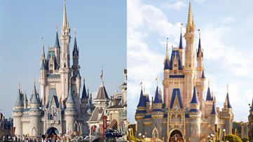 Cinderella's Walt Disney World castle is getting a golden makeover