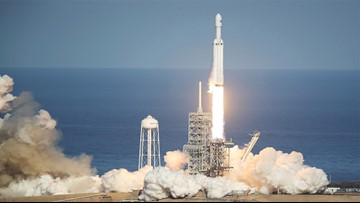 SpaceX Falcon Heavy launches early Tuesday from Cape Canaveral