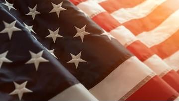 Florida man takes on Dorian  shirtless, with American flag in South Carolina