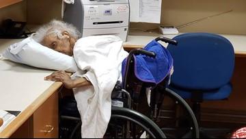 Elderly mom found alone, slumped over desk at nursing home, family says